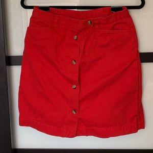 Dresses & Skirts - Red skort!!! ❤️❤️❤️
